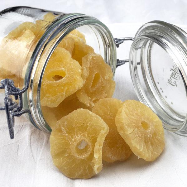 Ananas Déshydraté Sucré