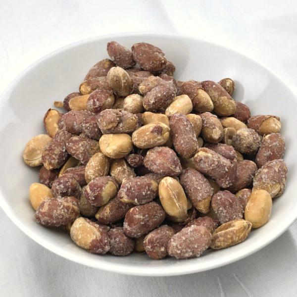 Cacahuète Grillée Salée avec Peau